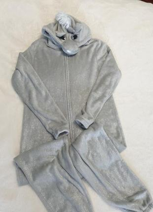 Пижама кигуруми единорог