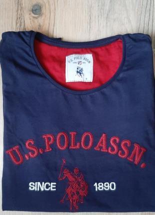 Оригинальная футболка u.s.poloassn.