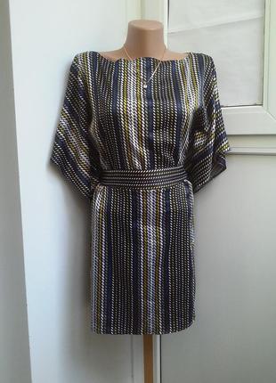 Струящаяся блуза-туника gorgeous с поясом
