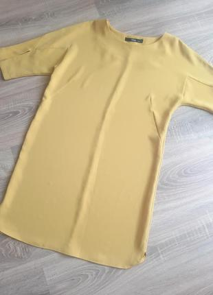 Жіноче плаття гірчичне