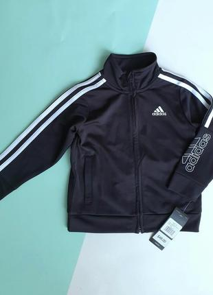 Спортивная кофта на молнии adidas оригинал сша 86-92