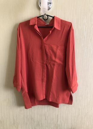 Льняная новая качественная рубашка