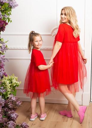 Платье фемели лук, плаття family look