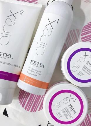 Глина для моделирования estel professional airex hair modeling clay4 фото