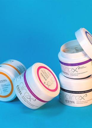 Глина для моделирования estel professional airex hair modeling clay