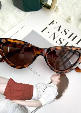 Солнцезащитные стильные женские очки. новые