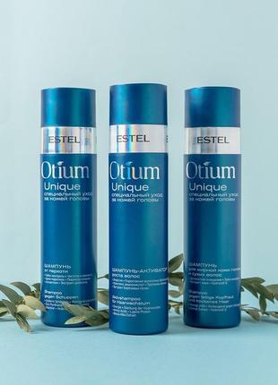 Шампунь-активатор роста волос estel professional otium unique shampoo