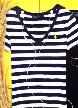 Актуальная на лето плотная футболка от ralph lauren, оригинал 💣