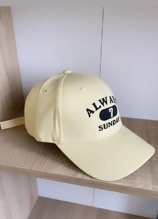 Хлопковая кепка 3-7 лет