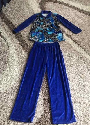 Стильный костюм брюки кофта скидки недорого модный1 фото