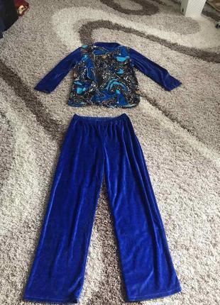 Стильный костюм брюки кофта скидки недорого модный3 фото