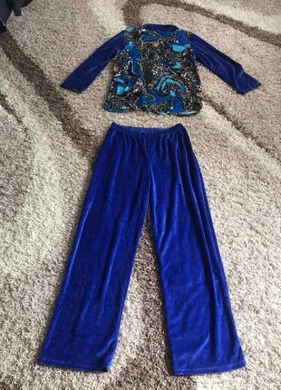 Стильный костюм брюки кофта скидки недорого модный2 фото