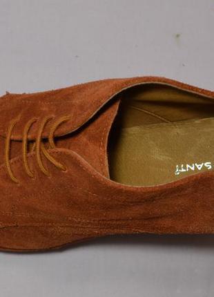 Р38 roberto santi,италия, натуральная замш кожа!изысканные,уютные туфли ботинки ботильоны4
