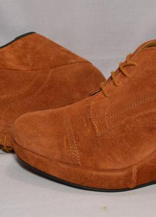 Р38 roberto santi,италия, натуральная замш кожа!изысканные,уютные туфли ботинки ботильоны2