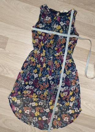 Воздушное шифоновое платье h&m, 10-11yrs
