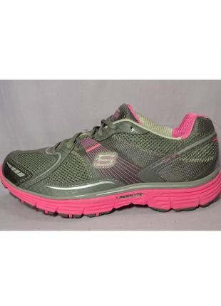 Р41 skechers fitness,сша,дышащий материал! эффектные,ультрадышащие,комфортные кроссовки
