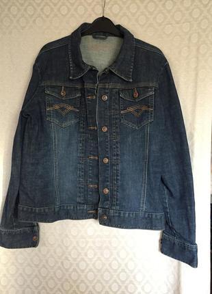 Джинсовая куртка пиджак жакет