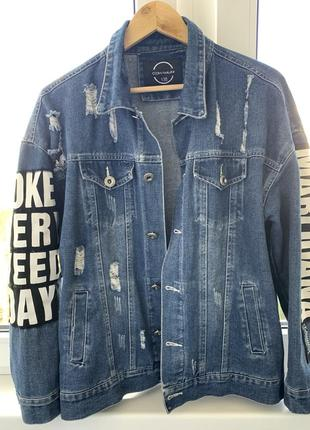 Джинсовка. джинсовая куртка. джинс