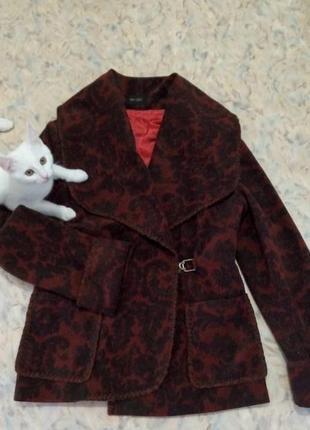 Стильный ассиметричный жакет пальто van girls