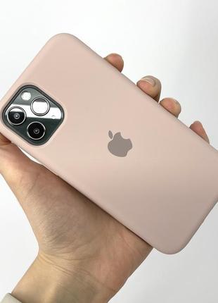 Чехол silicone case на айфон для iphone 11 pro про