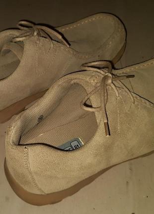 Туфли замшевые sf since 61. размер 45