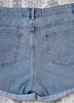 Джинсовые шорты mom2 фото