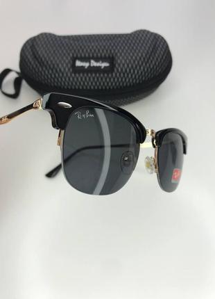 Стильные очки ray ban clubmaster унисекс2 фото