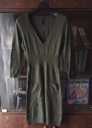 Платье topshop приталенное демисезонное