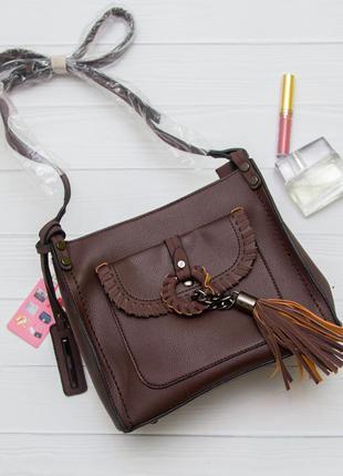 Красивая сумочка +косметичка