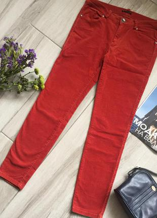 Вельветовые брюки sisley