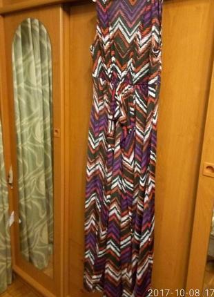 Платье длинное размер l