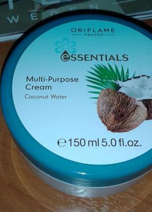 Крем для лица и тела «кокосовая вода», 150 мл