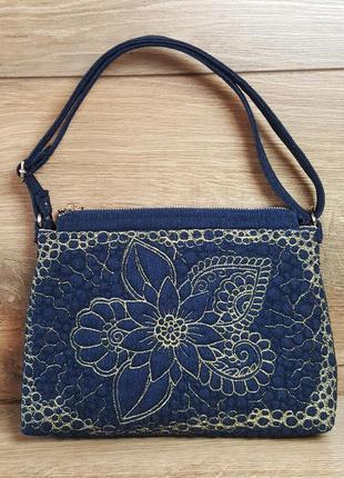 Женская сумочка клатч «цветочная фантазия»