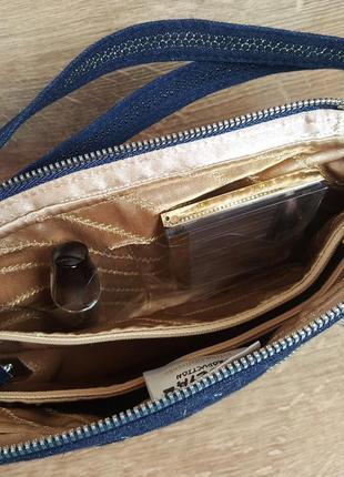 Женская сумочка клатч «цветочная фантазия»4 фото