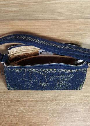 Женская сумочка клатч «цветочная фантазия»3 фото