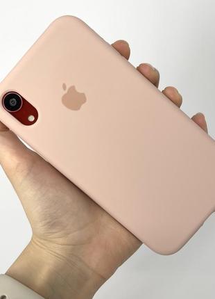 Чехол silicone case на айфон для iphone xr 10r хр 10р