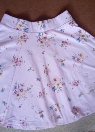 Летняя юбка хлопок 98%