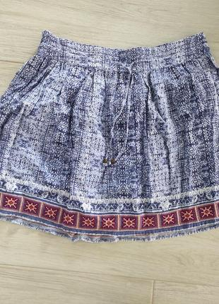 Фирменная стильная юбка