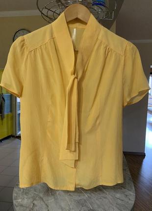Блузка натуральная ткань