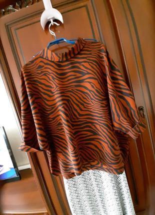 "Стильная шикарная блуза ""primark"", 52-54 размер, 16 евро"