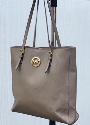 Шикарная сумка michael kors сафьяновая кожа оригинал