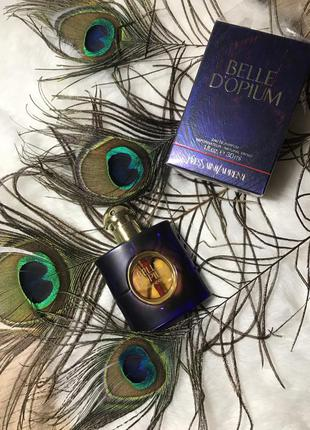 Оригинал редкий belle d'opium yves saint laurent