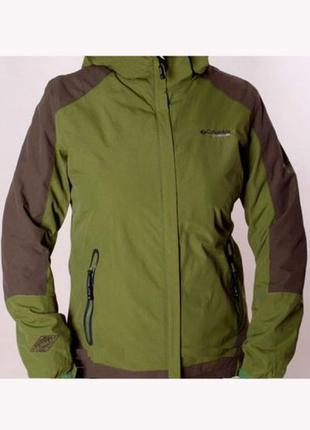 Мембранная куртка columbia titanium на флисовом подкладе