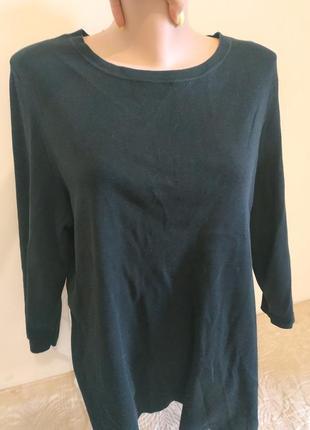 Оригинальный хлопковый пуловер/кофта от cos
