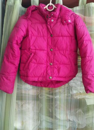 Супер тёплая брендовая куртка