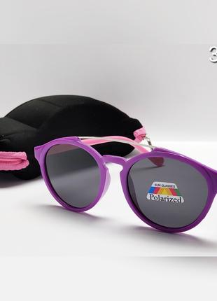 Дитячі сонцезахисні окуляри із футляром лінза поляризаційна