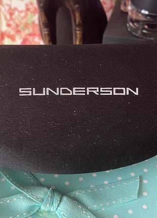 Очки солнцезащитные sunderson8 фото