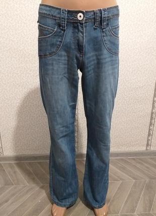 Летние, женские,  джинсы. (5589)