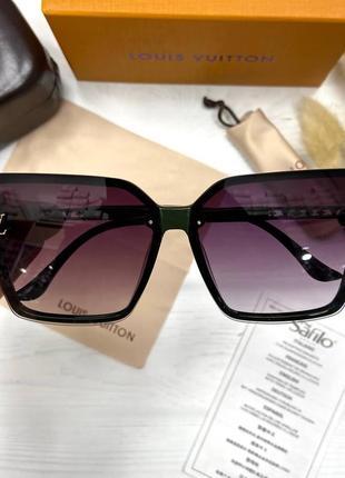 Женские солнцезащитные очки в стиле луи витон