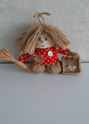Кукла домовой, статуэтка, фигурка, кузя
